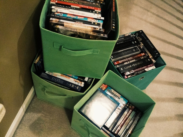 I also have a lot of movies and TV-on-DVD